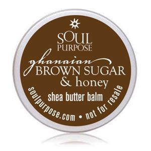 Picture of Ghanaian Brown Sugar & Honey Body Balm Sample Pack (20 Pack)